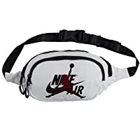 Jordan Jumpman Classic Crossbody Bag (One Size, White Gym Red)