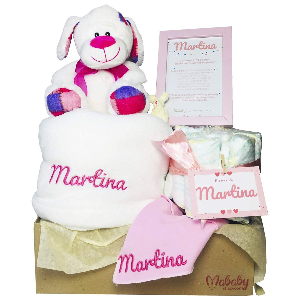 MabyBox Teddy Bear | Canastilla Bebé | Regalo Bebé Personalizado | Canastilla Regalo Recién nacido | Regalo Babyshower | Cesta Bebé Personalizada ...
