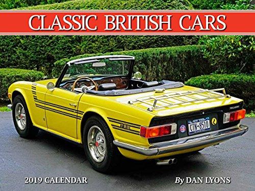 2019 Tide-Mark Classic Vehicles Calendar (British Cars)