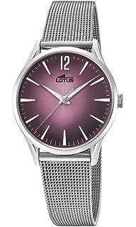 b0aff2509cb8 Lotus Reloj Análogo clásico para Mujer de Cuarzo con Correa en Acero  Inoxidable 18408 2