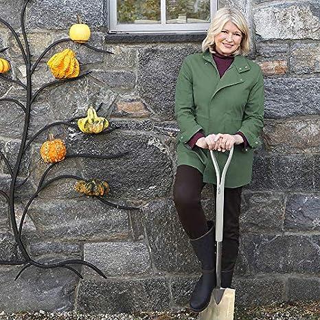Martha Stewart Garden Metal Tree Wall Planter with 11 Pots Black
