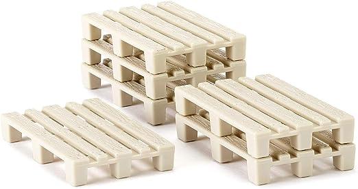 Siku 7015 - Palets en miniatura (50 unidades): Amazon.es: Juguetes y juegos