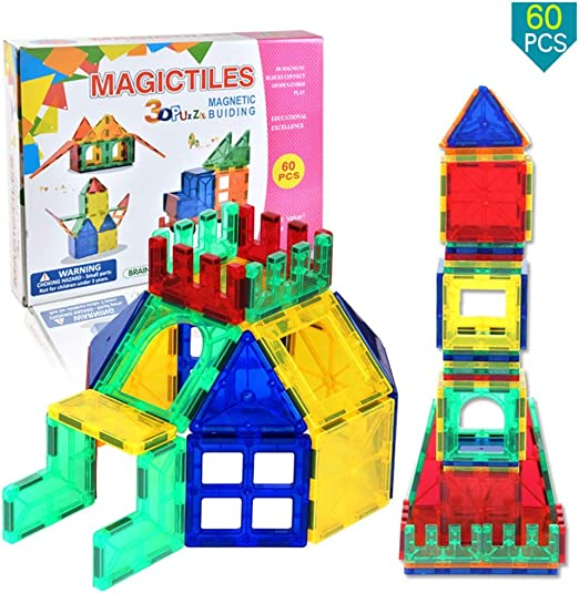 Castle Car Building Blocks For Building Magnetic Castle Blocks Toy 75PCS