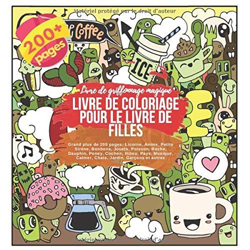 Amazon Fr Livre De Coloriage Pour Le Livre De Filles Grand