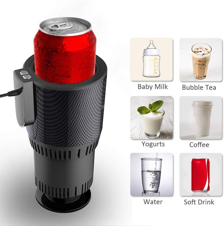 Auto Tassenw/ärmer K/ühler Smart Combo Auto Tasse K/ühlschrank Getr/änkehalter K/ühlung Heizung Getr/änkedosen Kaffee In Minuten 12V Auto Electric Cup