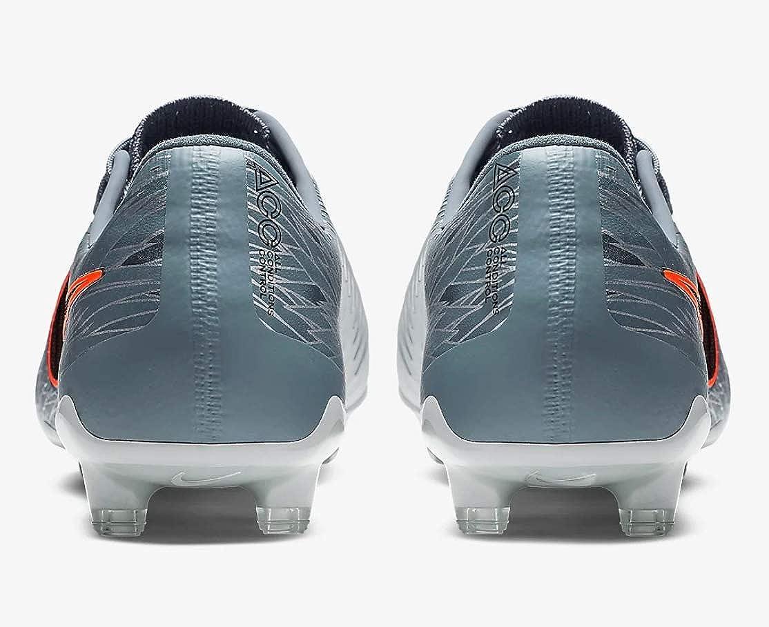 Nike Mens Phantom Venom Elite FG Soccer Cleats Wolf Grey//Black//Armory Blue