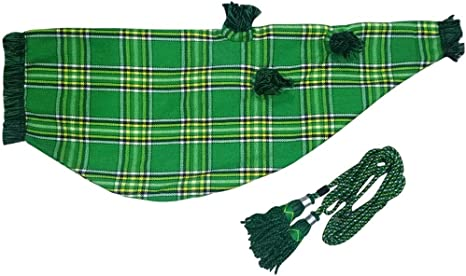 Bagpipes Highland Bagpipe Velvet Bag Cover with Zip