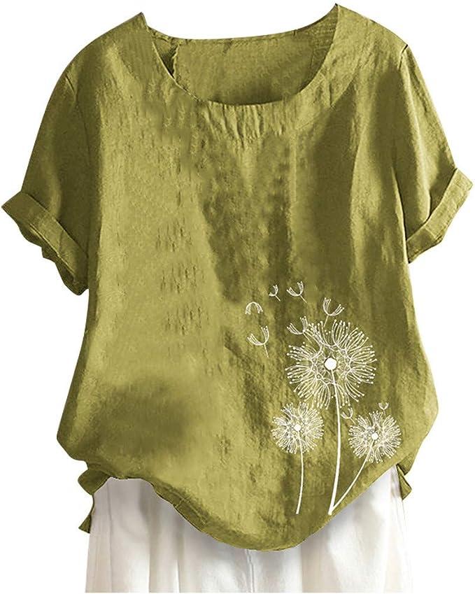 Damen T-Shirt PU-Leder Tops Mode T-Shirt Basic Tee Übergröße Top  Blusen