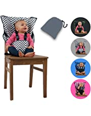 Cozy Cover Easy Seat Portable High Chair (Chevron) - Quick, Easy, Convenient Cloth Travel High Chair Fits in Your Hand Bag So That You Can Have It With You Everywhere For a Happier, Safer Infant/Toddler