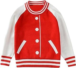 INNEROSE ❤ Per Neonati Abbigliamento Neonato Vestiti, Bambino Bambini Bambine Ragazzi Ragazze Maglia Maglione Stripe T-Shirt Top Vestiti Cotone Solido O-Collo