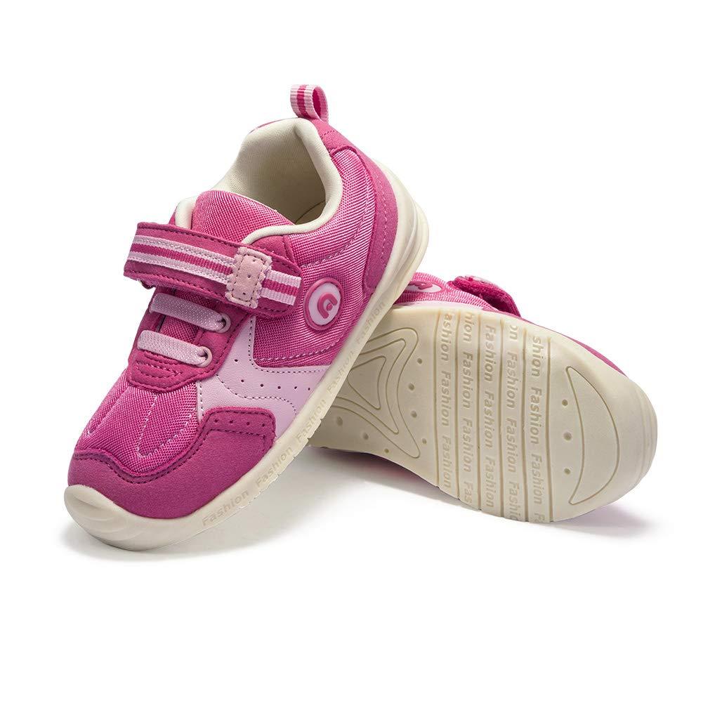 ABC KIDS Scarpe da Bambina Bambino Sport Outdoor Scarpe da Ginnastica Stripe Strap Traspirante Antiscivolo Soft Sole Walking Running Sneaker Shoes