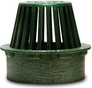 "NDS 3"" Atrium Grate, Green"