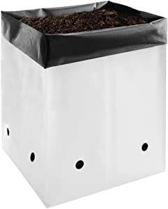 VIVOSUN 50-Pack 1 Gallon Grow Bags for Plants, Black-and-White Material for Potting Up Seedlings and Rooting