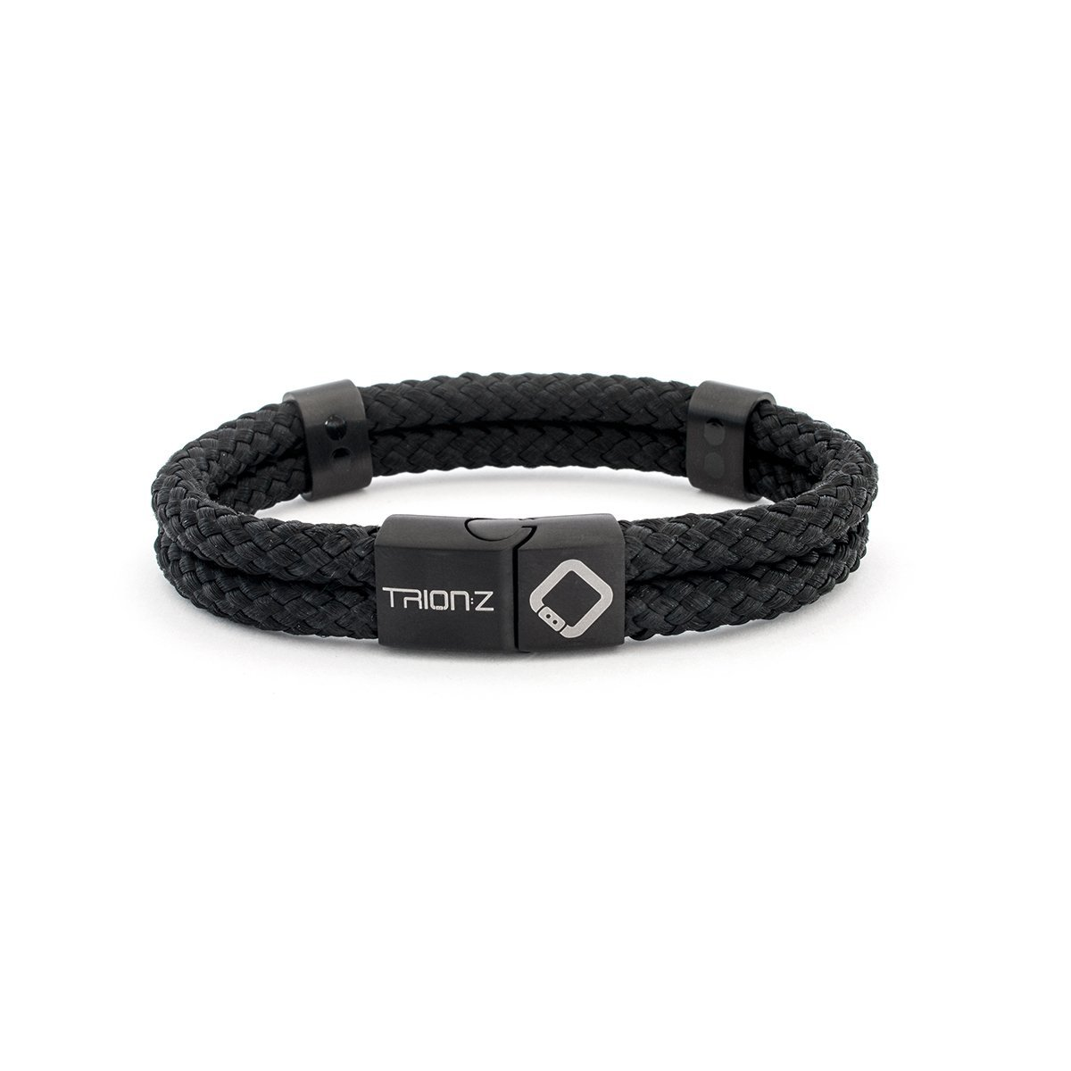 Magnetic Therapy Wristband from Trion:Z - Zen Loop Duo (Medium, Black) by Trion Z