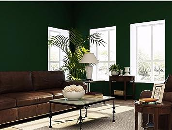 YMR FY Landhausstil Farbe Vintage Meliert Dunkelgrün Non Woven Wallpaper  Ebene Schlafzimmer Wohnzimmer Tv