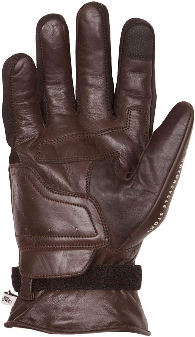 Helstons Gants de moto en cuir pour lhiver