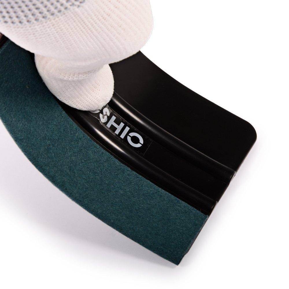 FOSHIO Kit Auto veicolo del vinile che sposta strumento di applicazione per di automobile Pellicole includono Tool Bag scope di guanti Magnete Nastro lama darte Zippy Cutter raschietto rasoio