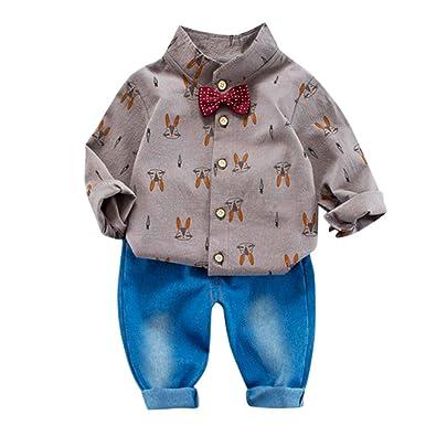 Amazon.com: Conjunto de ropa para recién nacido + pantalones ...