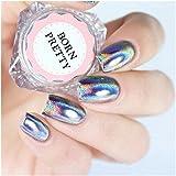 BORN PRETTY 0.5g Holographic Laser Rainbow Powder Chrome Pigment Manicure Nail Art Glitter