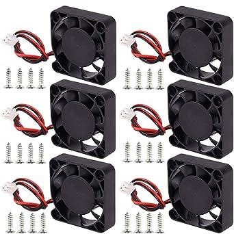 Nsiwem Ventiladores para impresora 3D 6 piezas Ventilador de ...
