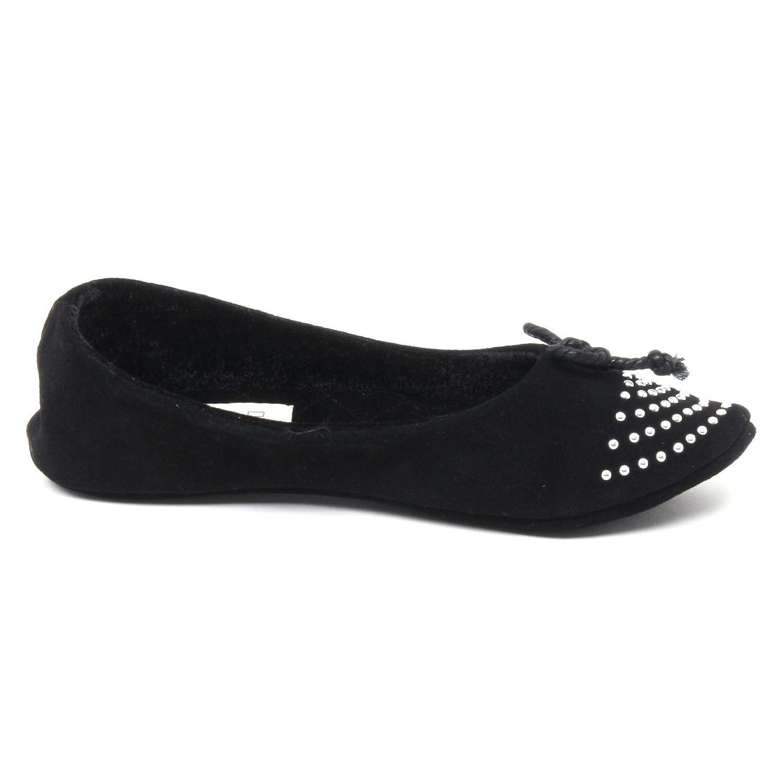 ALTO MILANO Damenschuhe B2990 Pantofola da casa Damenschuhe MILANO Scarpa Nero Slipper Schuhe Woman 24a207