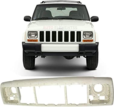 New Front Header Panel Thermoplastic Fiberglass For 1997-2001 Jeep Cherokee Direct Replacement 55055233AF 55055233AE