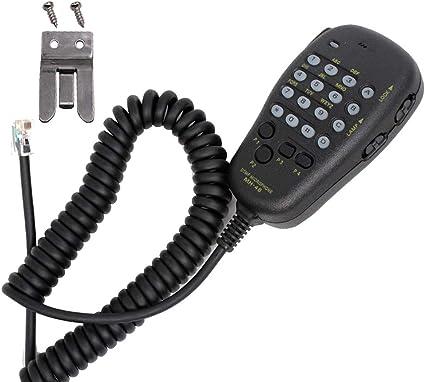 for Yaesu Two-Way Radio FT-7800R FT-8900R FT-1500M 2800M MH-48A6J DTMF Hand Mic