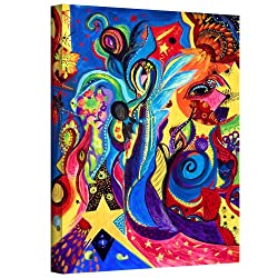 Art Wall Marina Petro Guardian Angel Gallery Wrapped Canvas Art, 32 By 24-inch