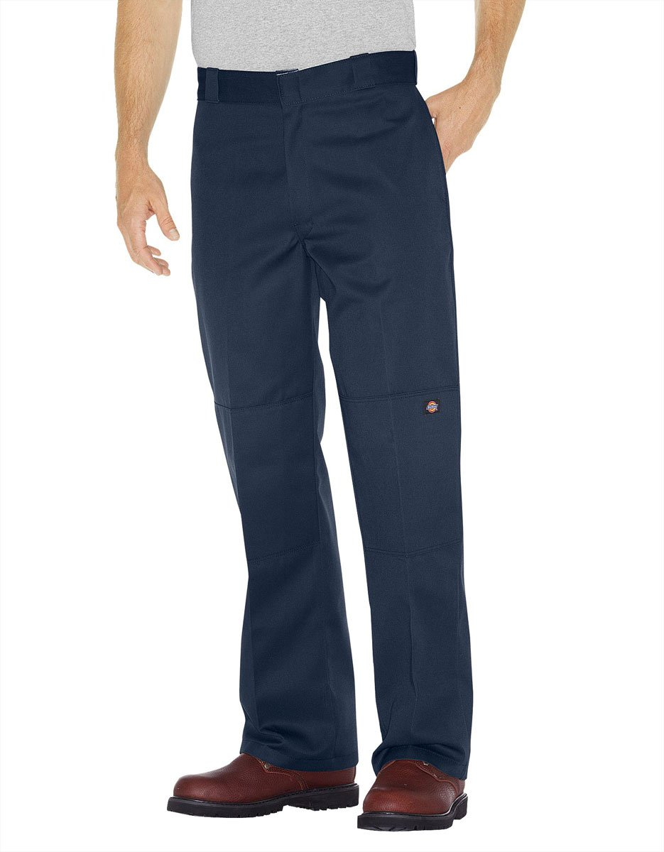 Dickies Loose Fit Double Knee Work Pants, Dark Navy, 54W x 30L