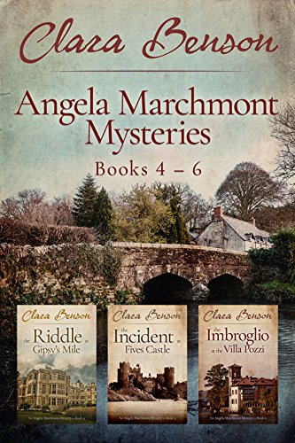 Angela Marchmont Mysteries: Books 4-6 (The Riddle at Gipsy