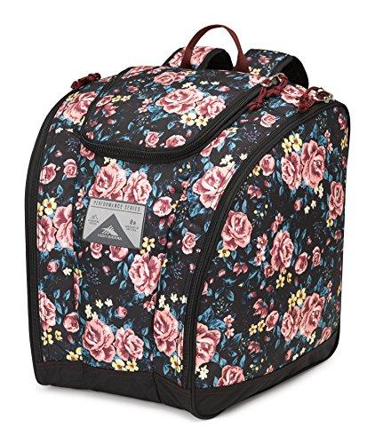 - High Sierra Trapezoid Boot Bag, Secret Garden/Black/Cranberry