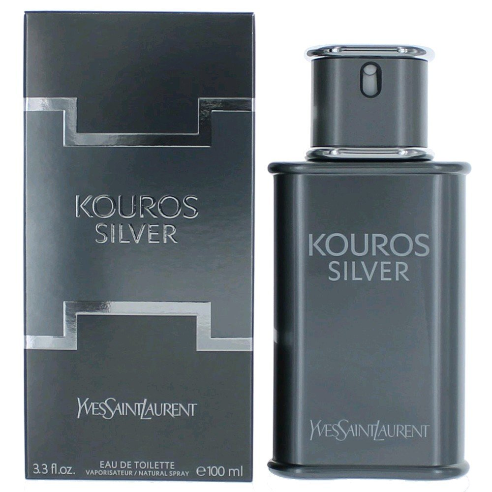Men's Laurent Silver De Spray3 Kouros Toilette Ounce Eau Saint Yves 4 VGMzUpqS