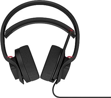 HP Omen X Mindframe - Auriculares gaming (tecnología de refrigeración, sonido envolvente 7.1 virtual, iluminación RGB, control en el casco) negro y rojo: Hp: Amazon.es: Informática