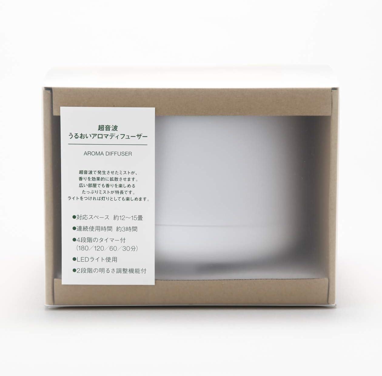 16,8 cm De Di/ámetro x 12,1 cm Altura Muji Difusor De Aroma