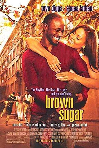 Taye Diggs Poster (BROWN SUGAR Original Movie Poster 27x40 - Dbl-Sided - Sanaa Lathan - Taye Diggs - Mos Def - Queen Latifah)