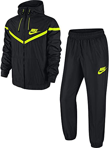 Nike Fearless Track Suit - Chándal para Hombre, Color Negro/Verde ...