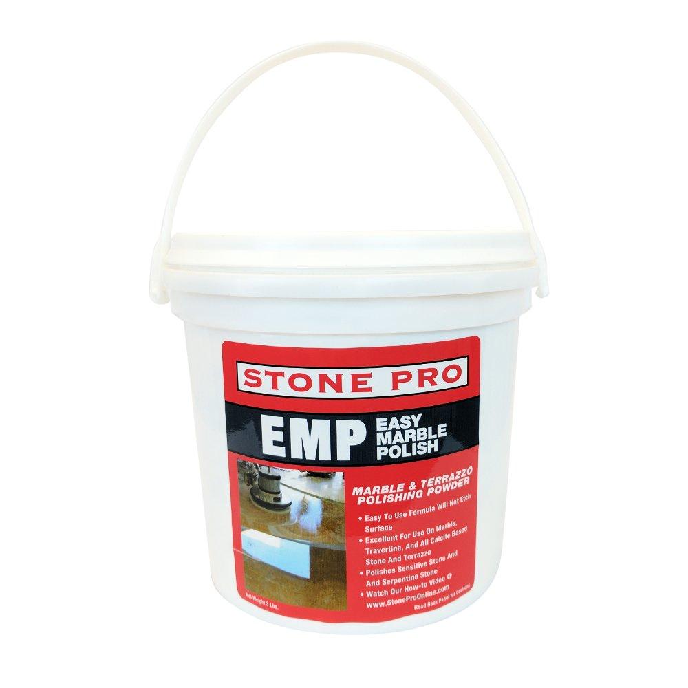 Amazon.com: Stone Pro Easy Marble Polish (EMP)   Marble And Terrazzo  Polishing Powder   3 Pound: Kitchen U0026 Dining