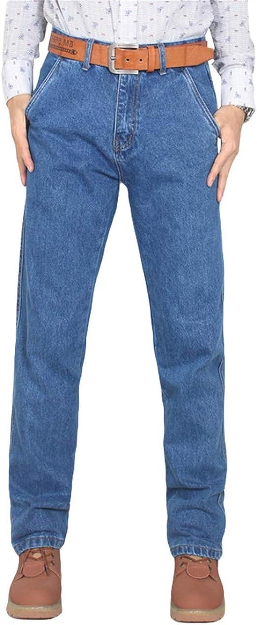 FOMANSH メンズ ジーンズ デニムパンツ レギュラー ストレート ウォッシュ加工 カジュアル 大きいサイズ 春秋 夏