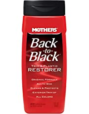 Mothers Back to Black restaurador de plástico y molduras, 12 oz (354.88 ml)