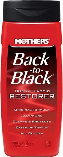 Mothers 06112 Back-to-Black Trim & Plastic Restorer