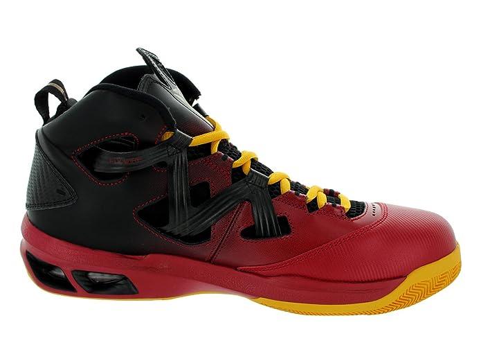 Nike Men's Jordan Melo M9 Blck/Mtlc Gld Str/Gym Red/Unvrs Basketball Shoes  12 Men US: Amazon.in: Shoes & Handbags