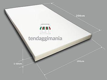 TENDAGGIMANIA gomaespuma de Alta Densidad 30 para Sofá Placa 200 X 100 Poliuretano expandido Esponja Relleno