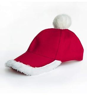 34f85a4ee6e Amazon.com  Santa Baseball Hat  Kitchen   Dining