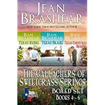 The Gallaghers of Sweetgrass Springs Boxed Set Two: Books 4-6 (Texas Heroes)