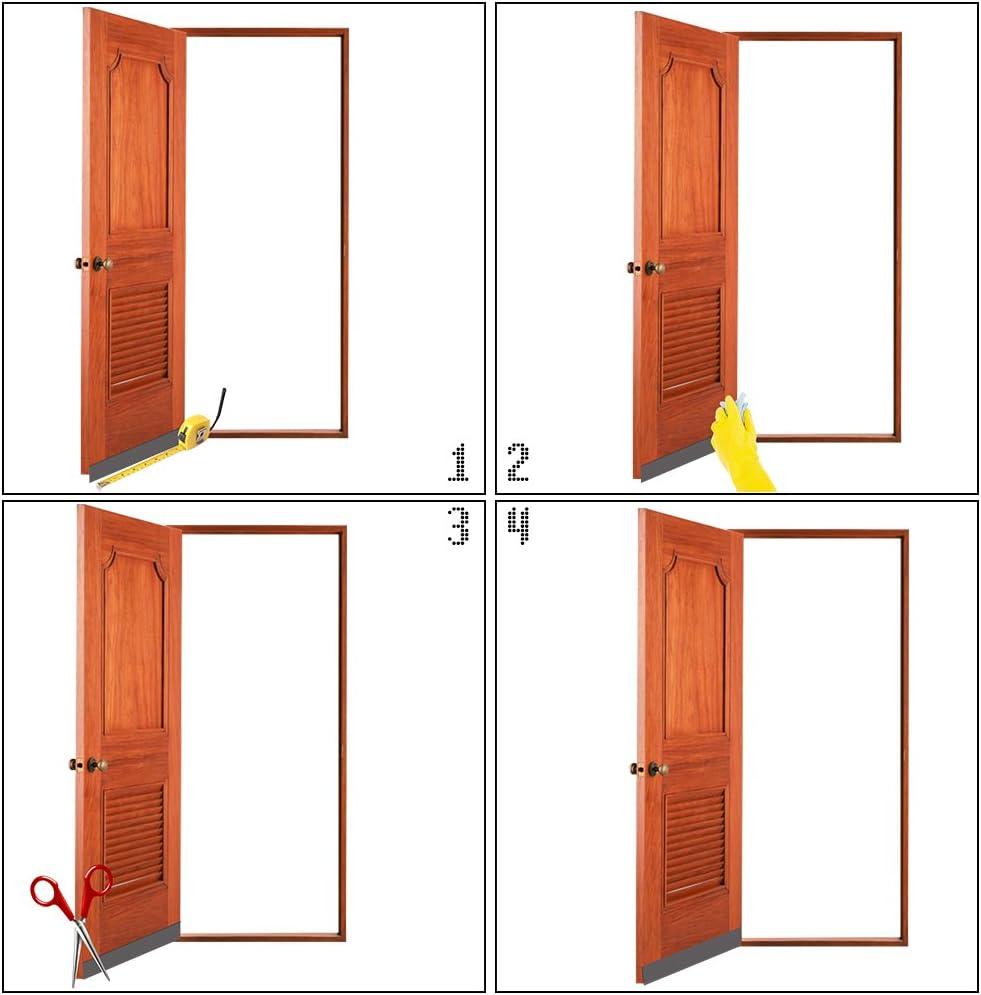 Sello de puerta autoadhesivo para la parte inferior de la puerta ...