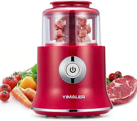 Powerful Handle Food Processor Choppers Mincer Vegetables Meat Grinder Red
