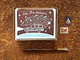 Tis the Season, Wagoneer and Tree Cards, Griswold Christmas, Holiday Card, Boxed Set of 8 Letterpress Holiday Cards, Christmas Cards