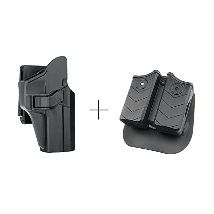 Amazon Efluky Double Magazine Holder HK USP Holster OWB Extraordinary Holster With Magazine Holder