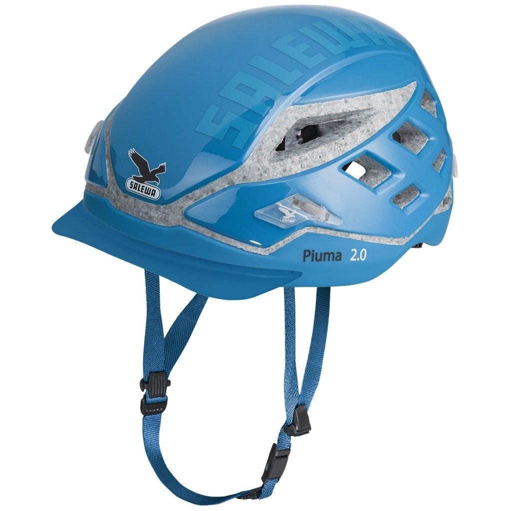 SALEWA Helm Piuma 2.0 - Casco de escalada (tamaño único), color azul claro, talla Talla única: Amazon.es: Deportes y aire libre
