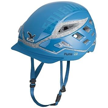 SALEWA Helm Piuma 2.0 - Casco de escalada (tamaño único), color azul claro